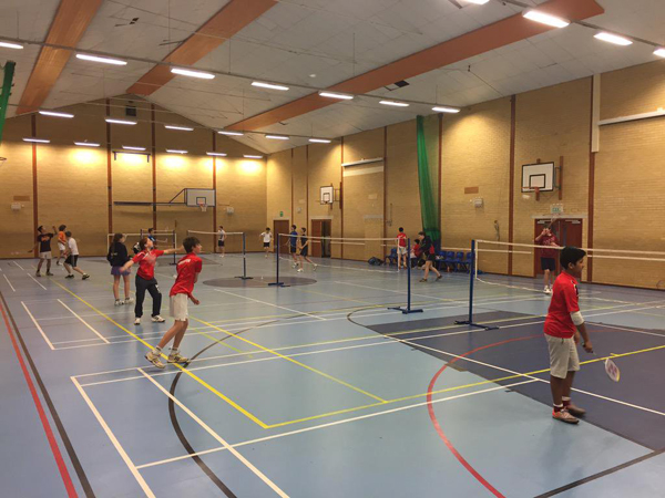 Pittville B.C. Junior Coaching Session at Balcarras Sports Centre